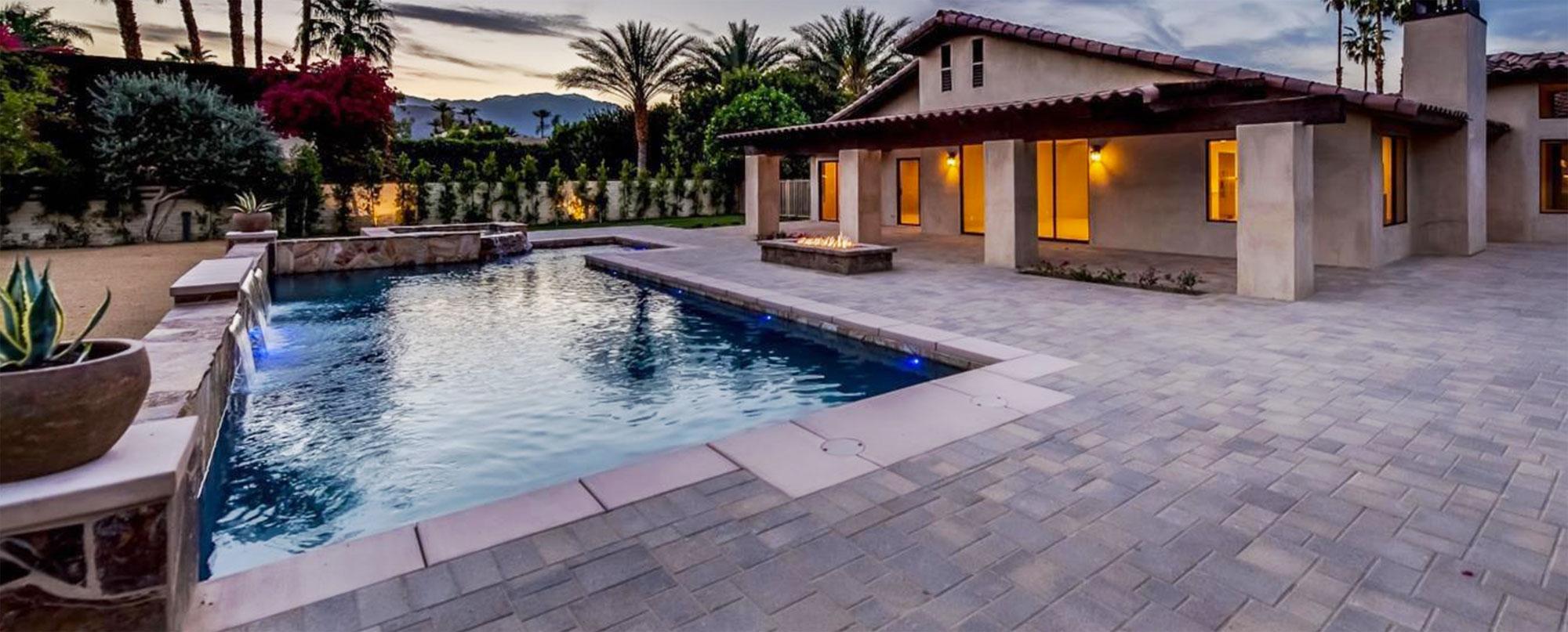 Pool Construction Rancho Mirage, California